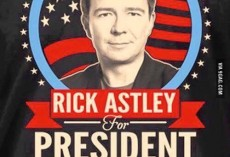 Rick Astley Promises as President